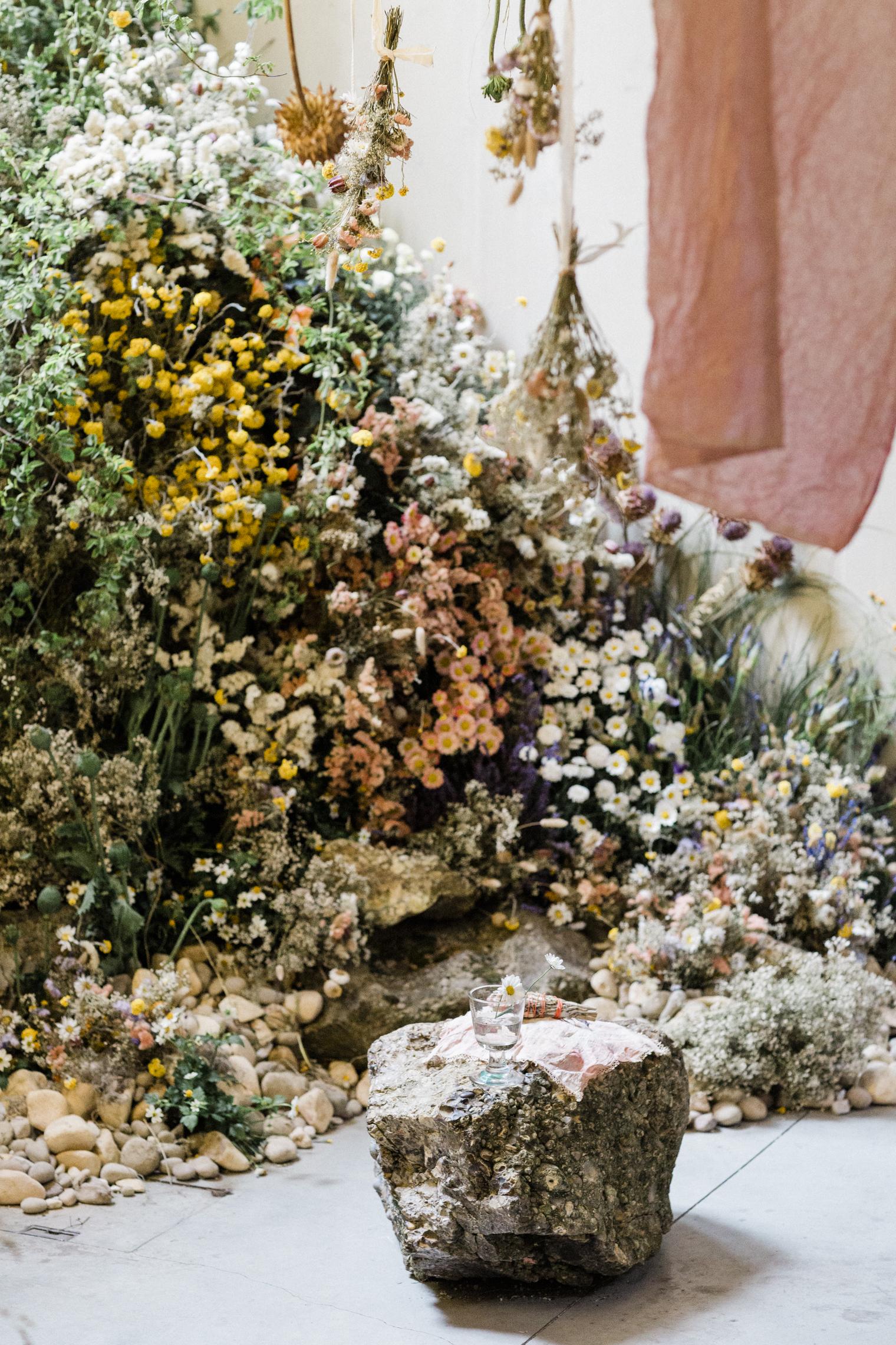 Worm Installation at the Garden Museum