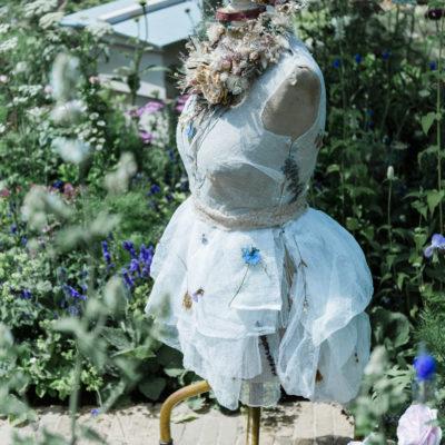 The Naturecraft Garden featuring JamJar Flowers   RHS Hampton 2019