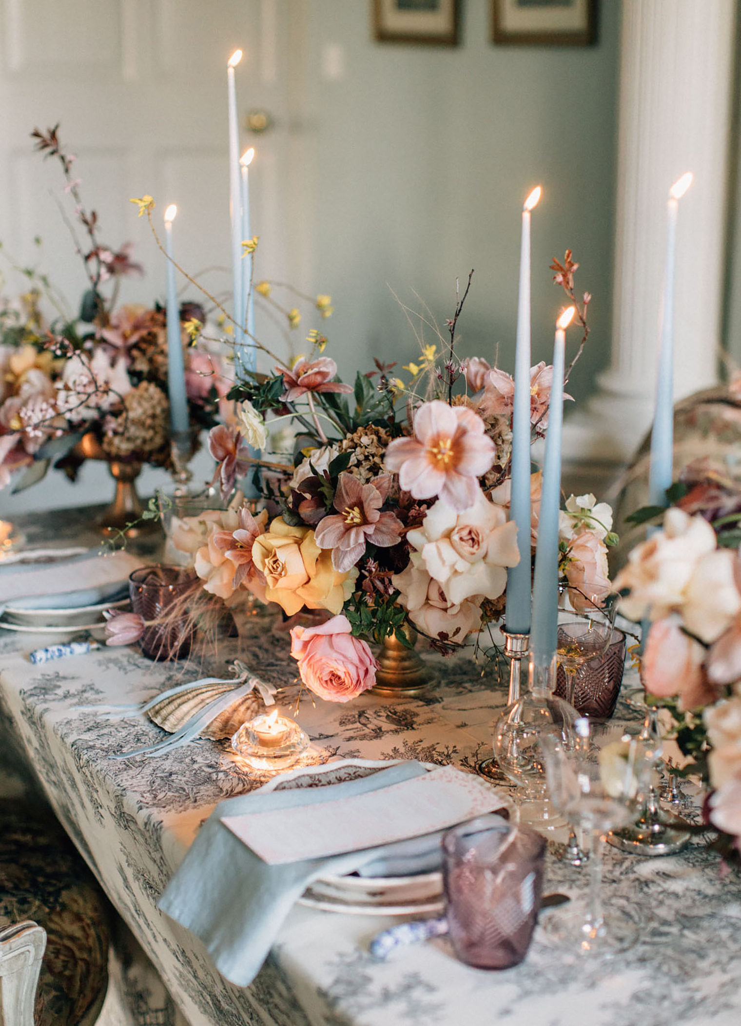 Photography by Paula O'Hara Photography and Floral Tablecentres by The Rosehip & Berry