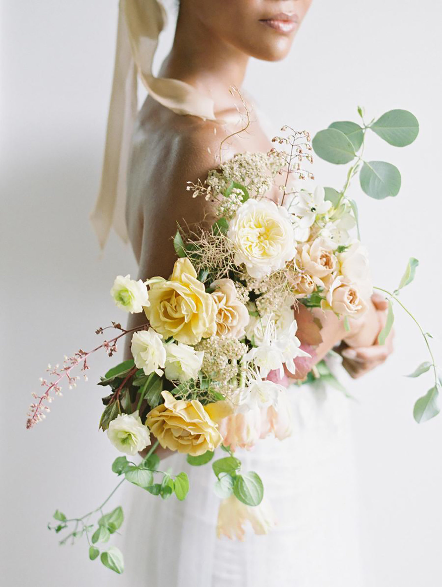 Wedding bouquet by Kelly Lenard captured by Clary Pfeiffer Photography