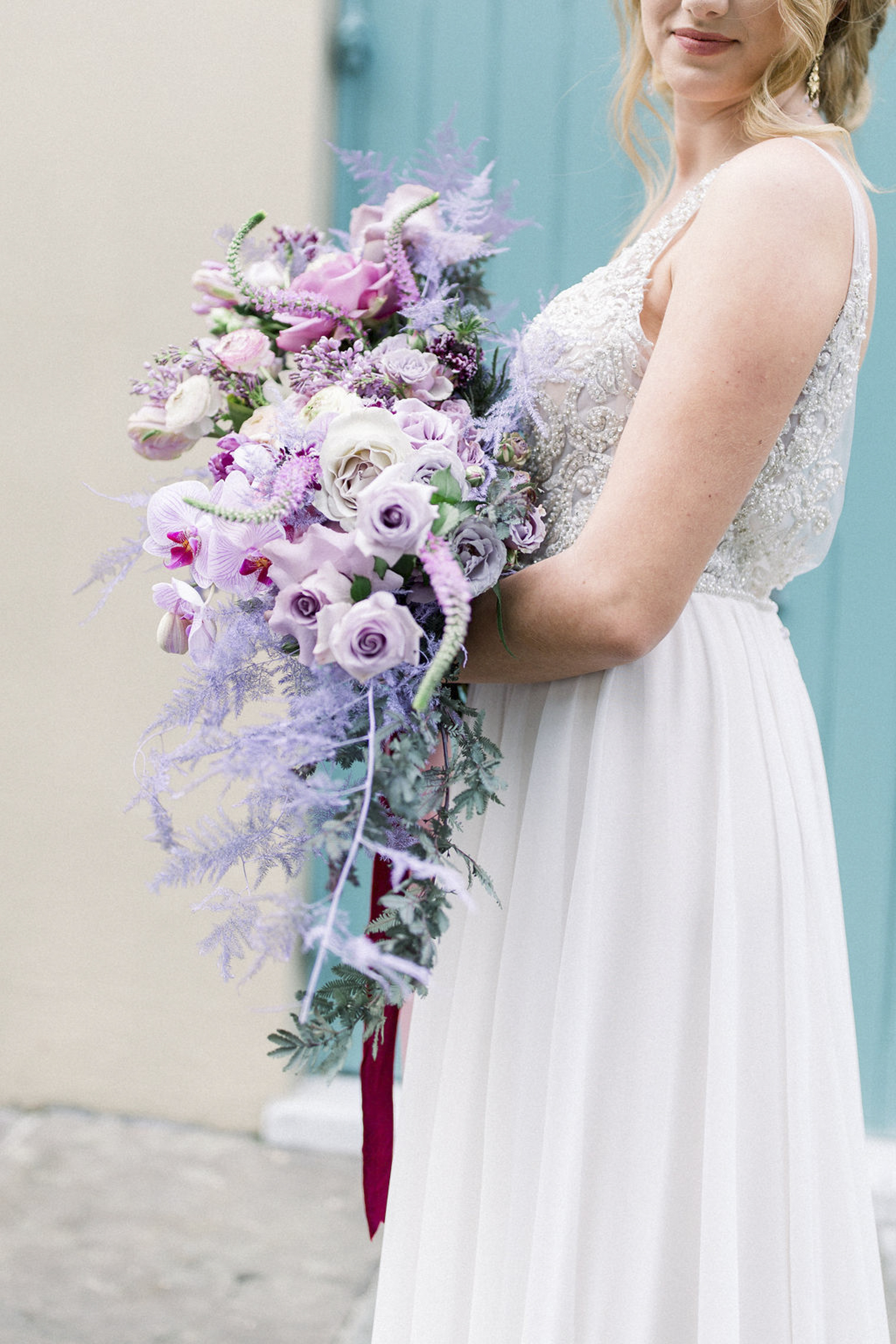 Increase Booking with Gorgeous Proposals from Curate - Lilac Wedding Bouquet