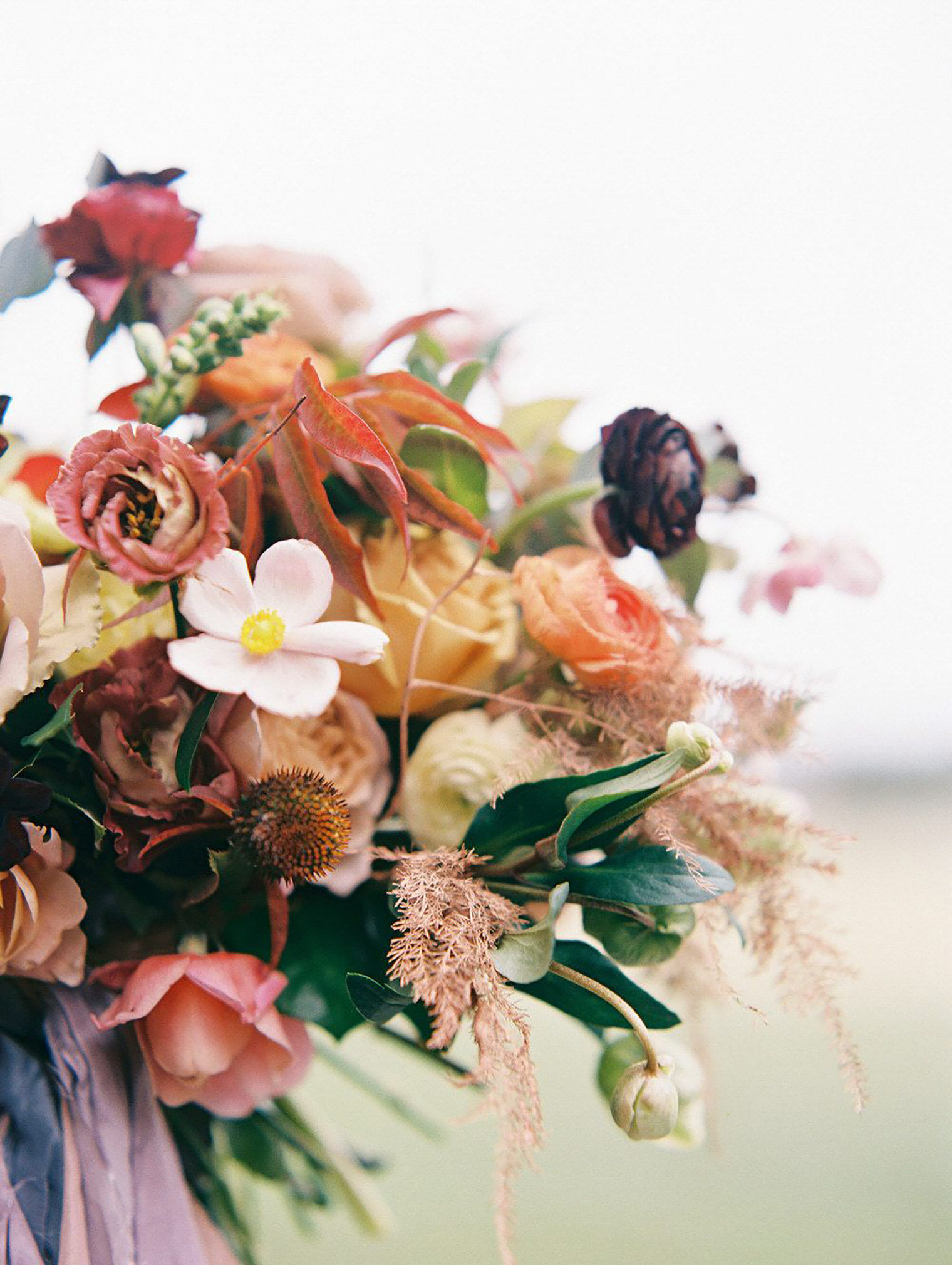 Fall Wedding Inspiration Photography by Sarah Ingram and Flowers by Ginny Early