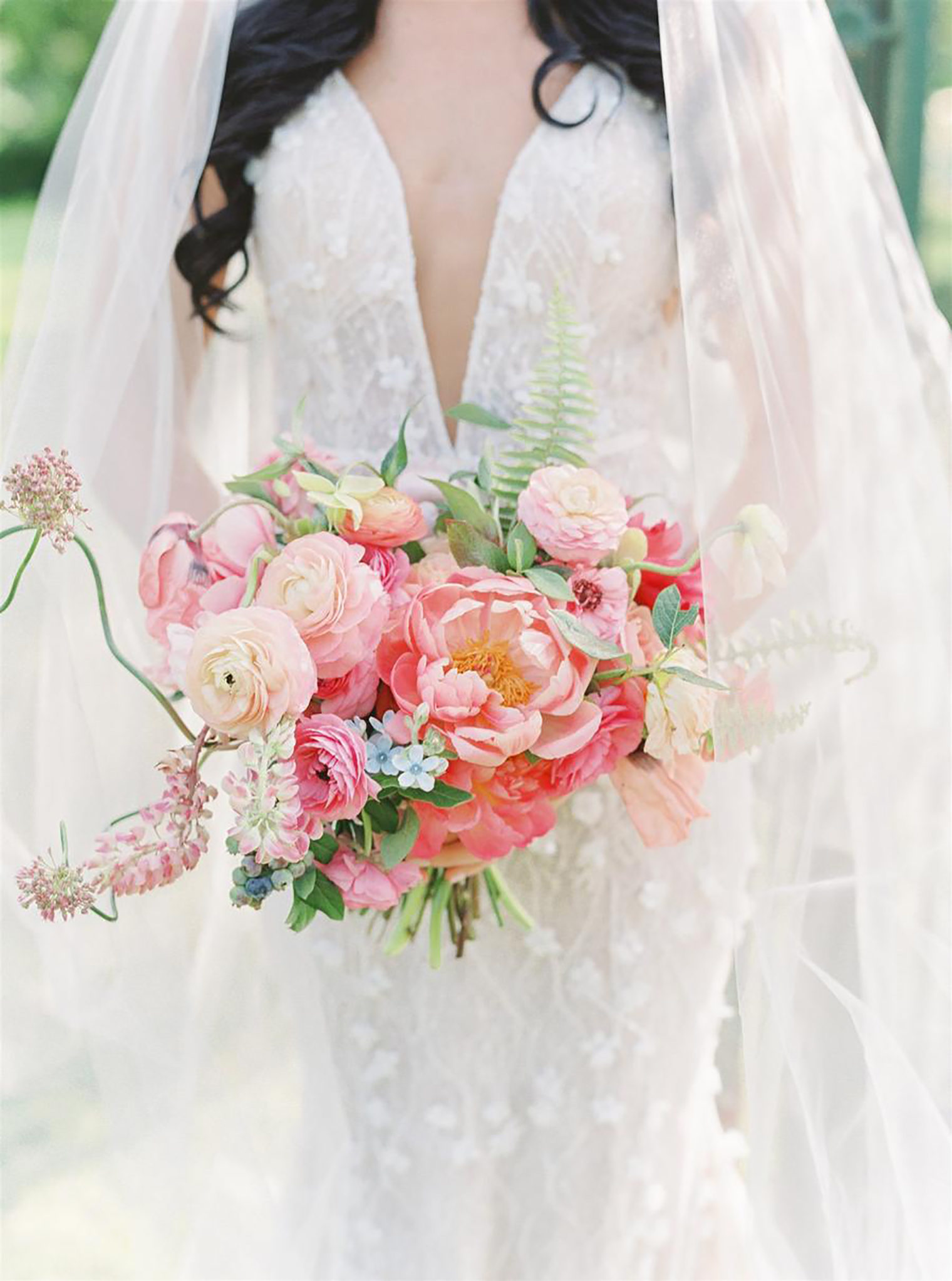 Wedding Florals Inspiration Photography by Lauren Fair and Wedding Bouquet by A P Bio