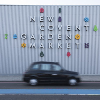 New Covent Garden Flower Market Survey| AD