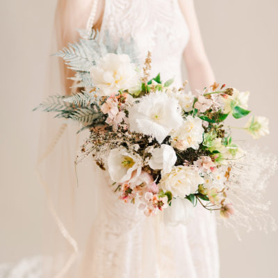 Wedding Flowers in Peach & White | Floristry Industry Insight