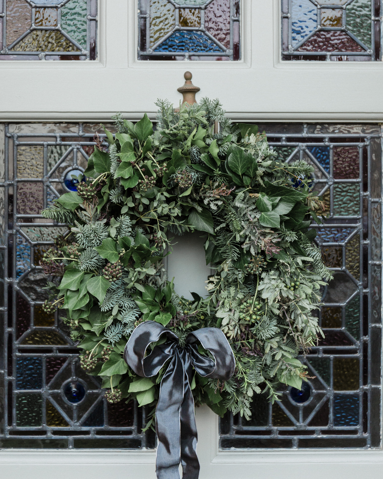 Christmas Door Wreaths  - Rona Wheeldon at Flowerona