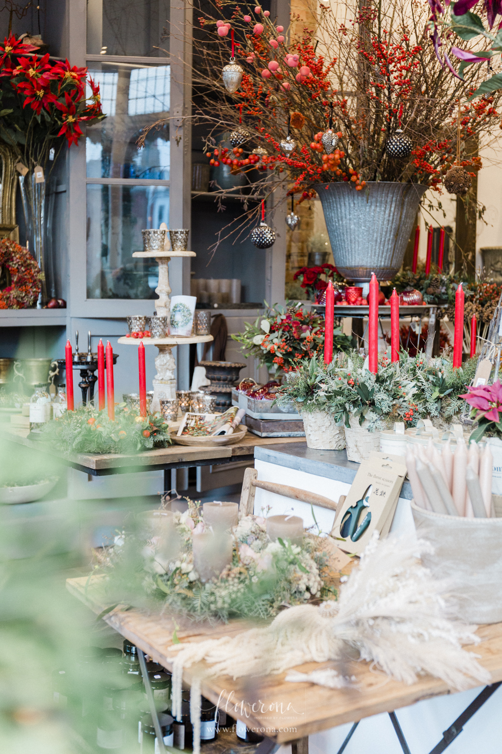 Zita Elze Flower Shop Christmas 2019