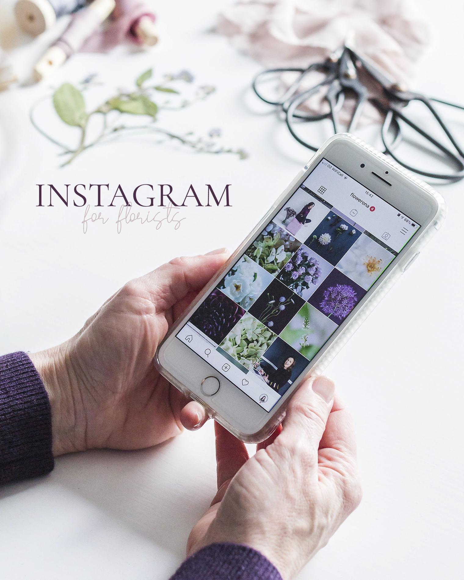 Instagram for Florists Online Course Launch