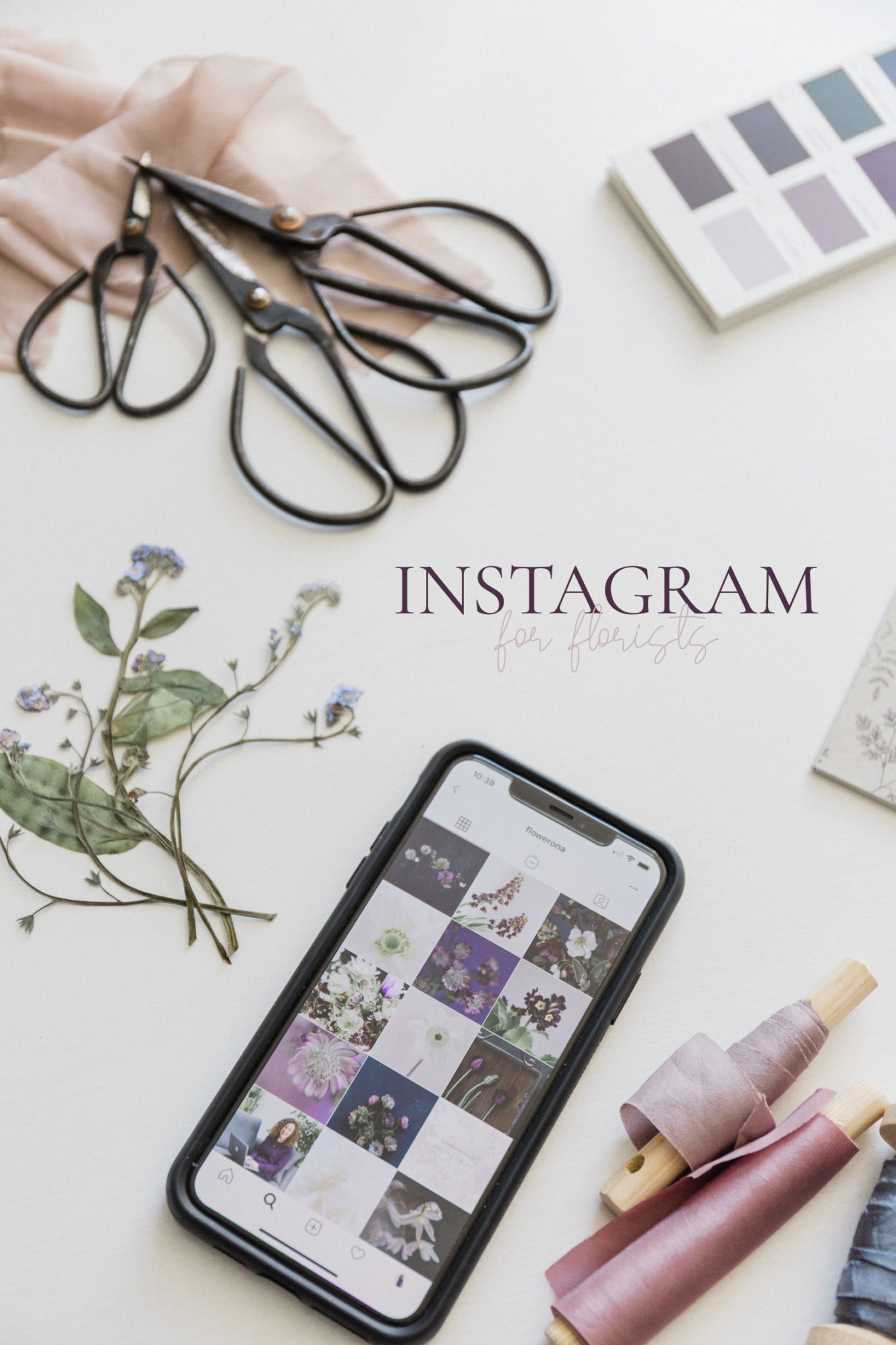 Instagram for Florists online course