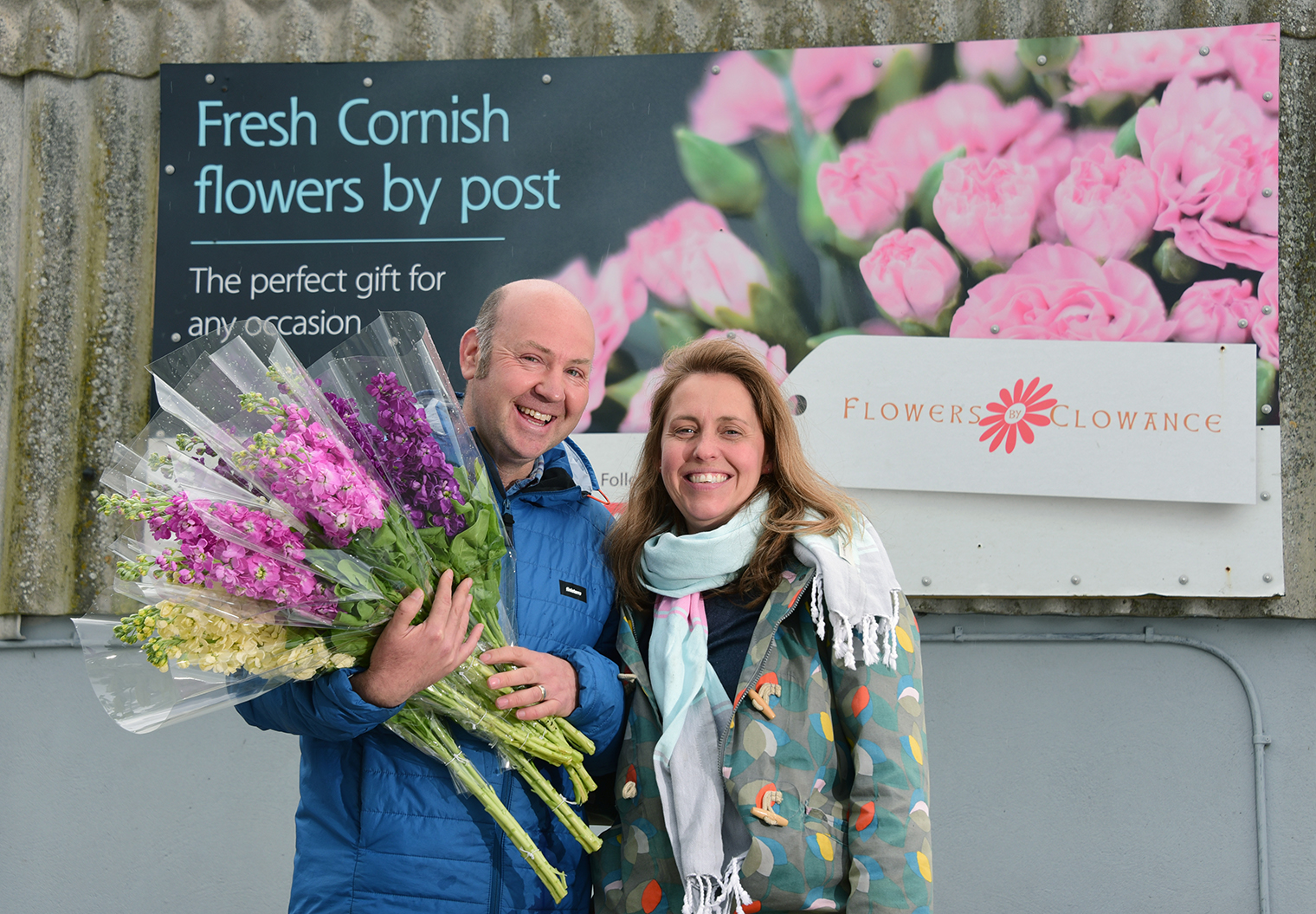 British flower growers - James Cock from Flowers by Clowance