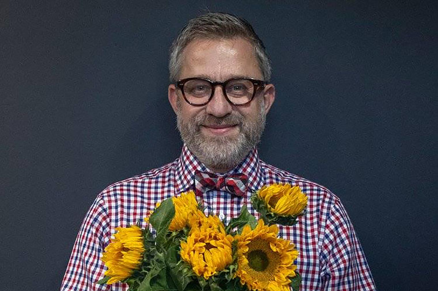 McQueens Flowers CEO Richard Eagleton