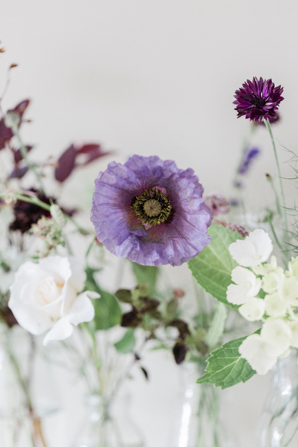 Floristry trends - natural, meadowesque, just-picked-from-the-garden look