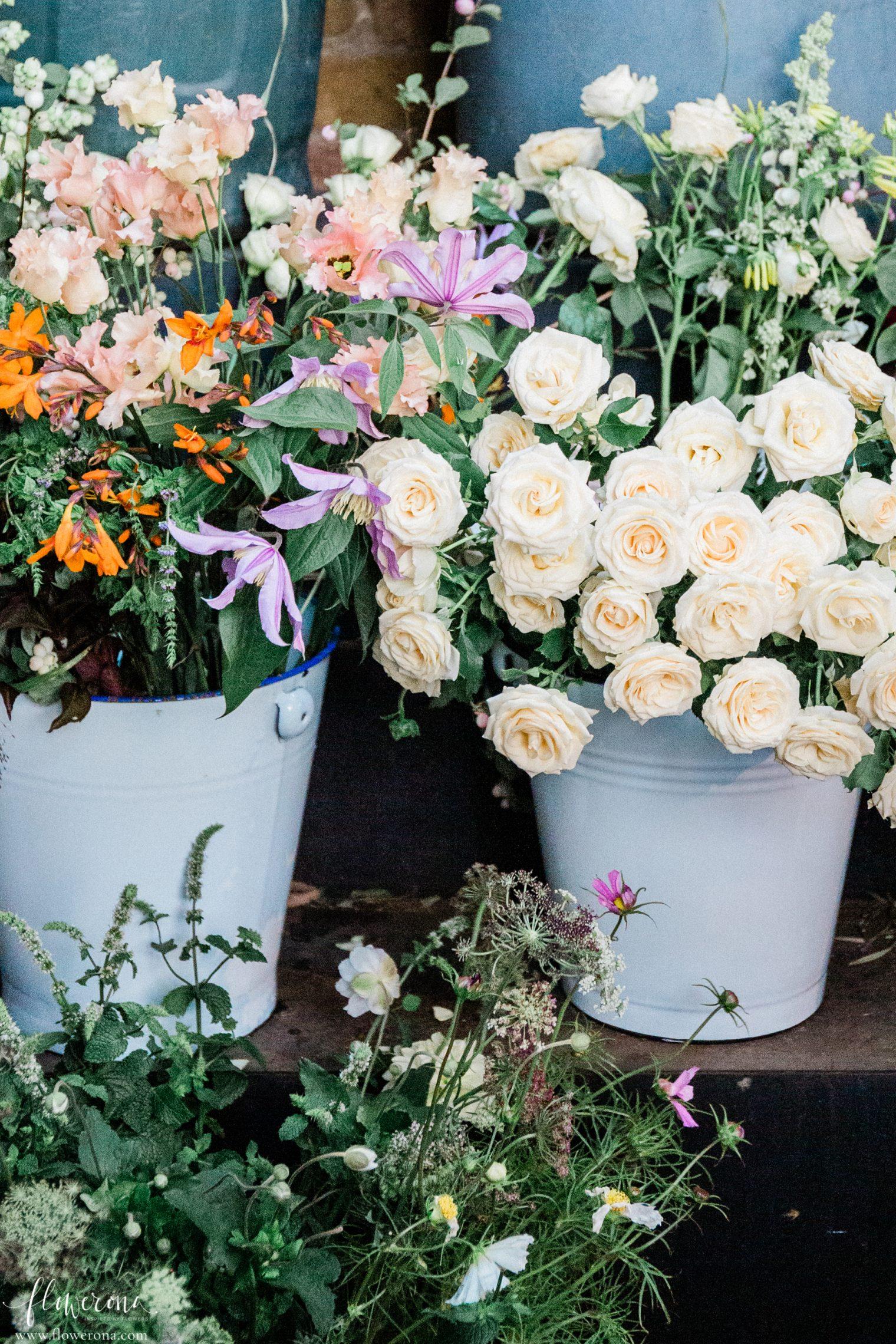 Fresh Flowers at the JamJar Flowers Studio