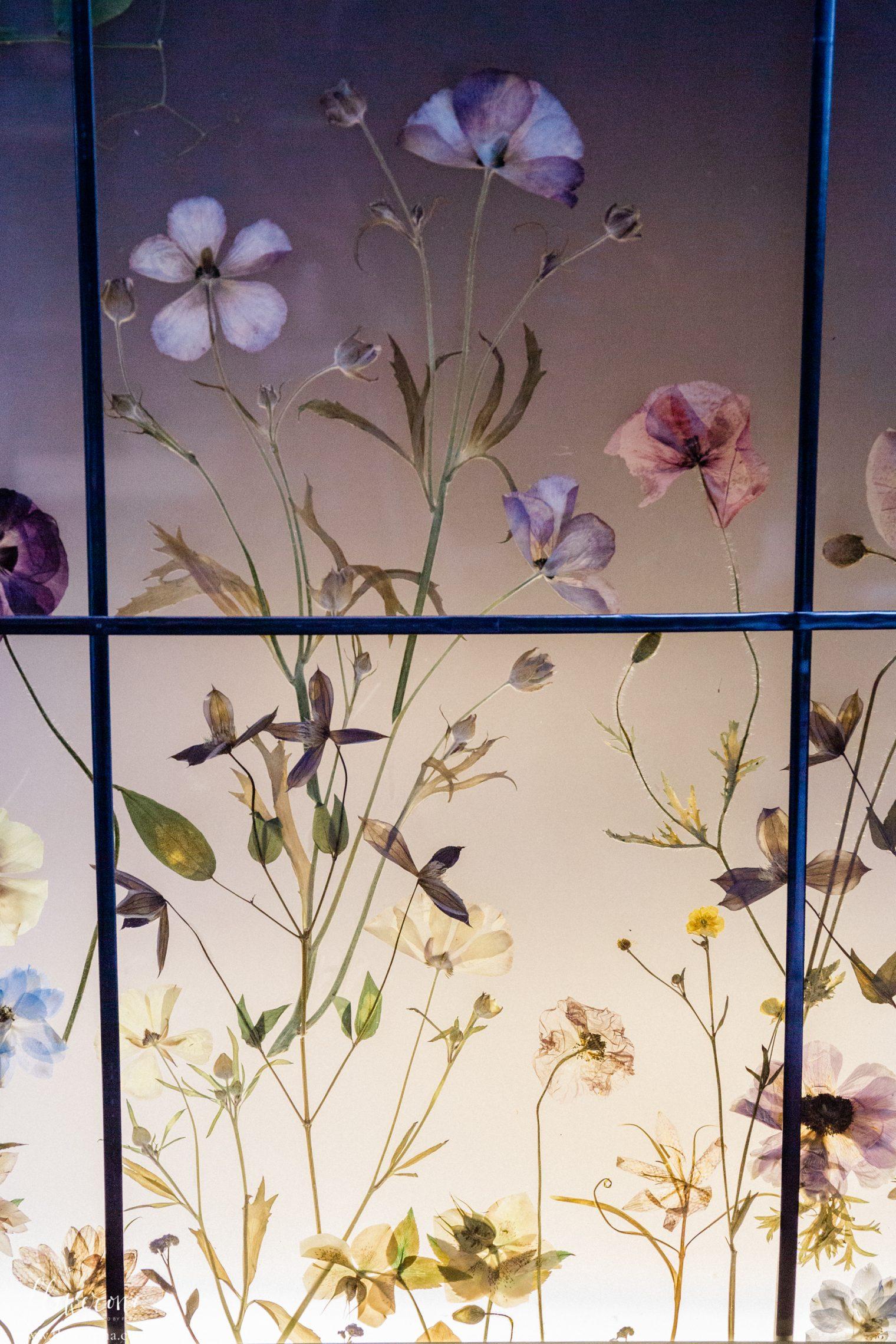 Pressed Flowers at the JamJar Flowers Studio