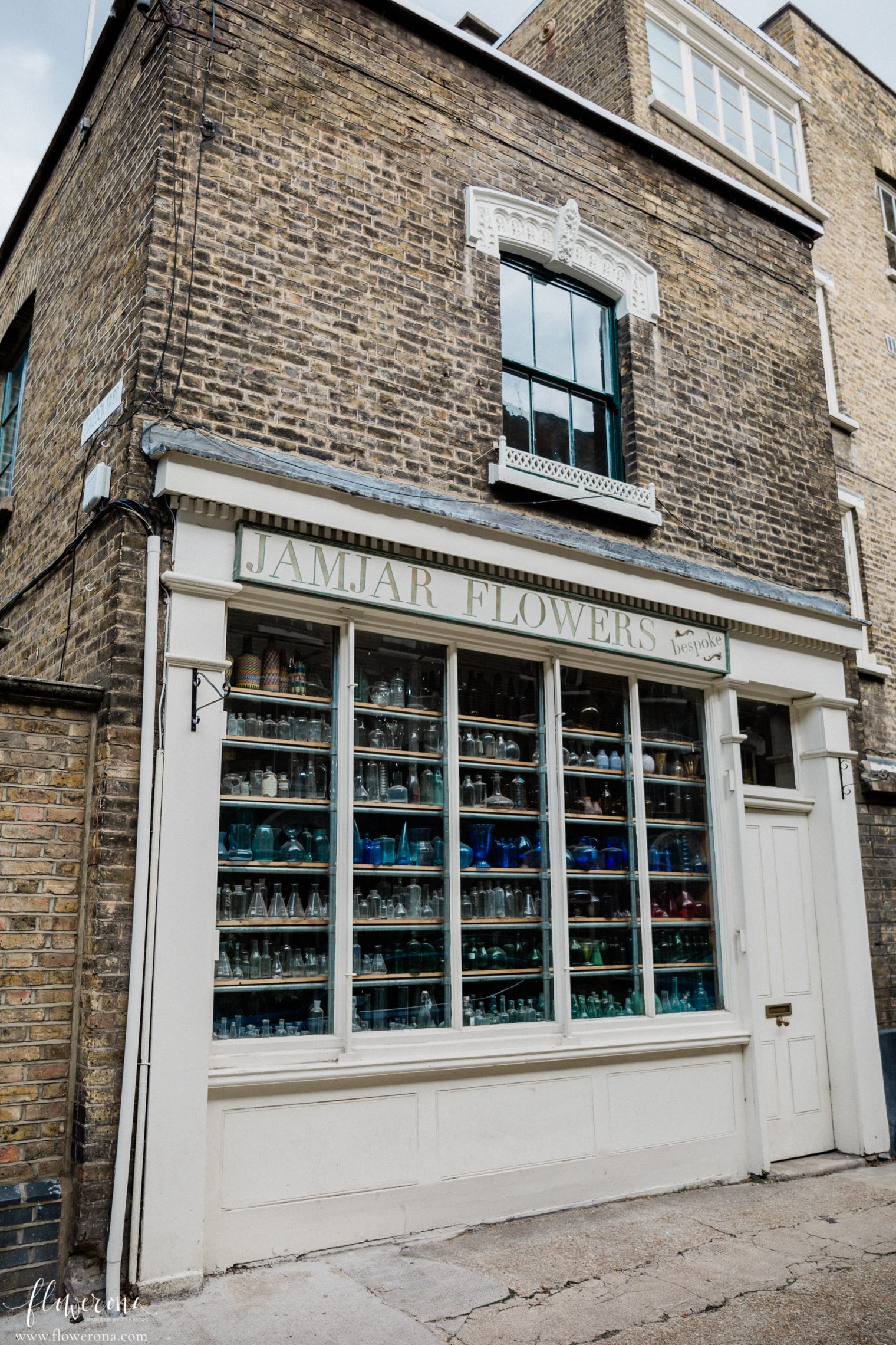 JamJar Flowers Studio in London