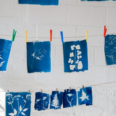 Flower Pressing & Cyanotype Print Workshop with JamJar Edit | Part 3
