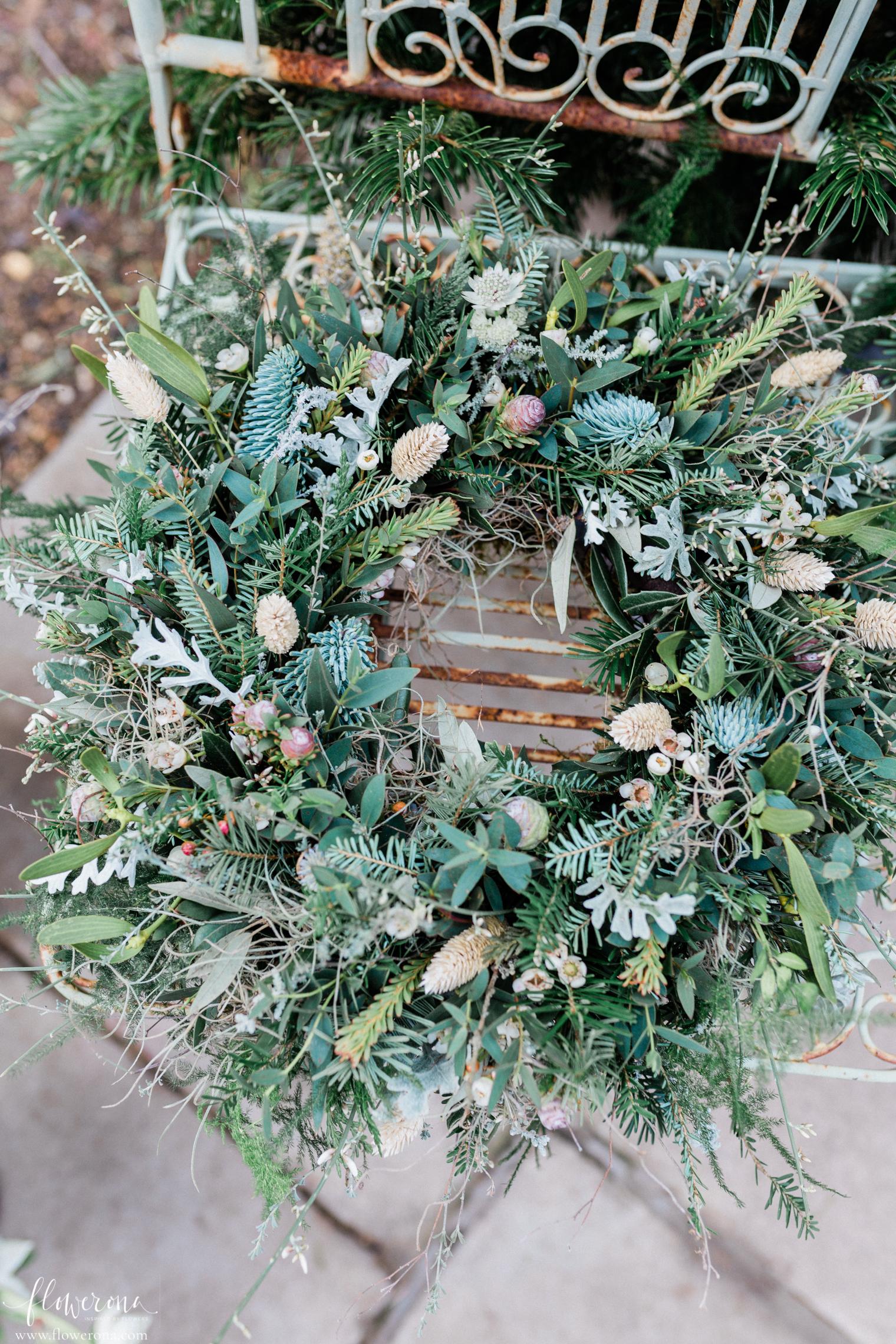 Zita Elze's flower shop - Door Wreath