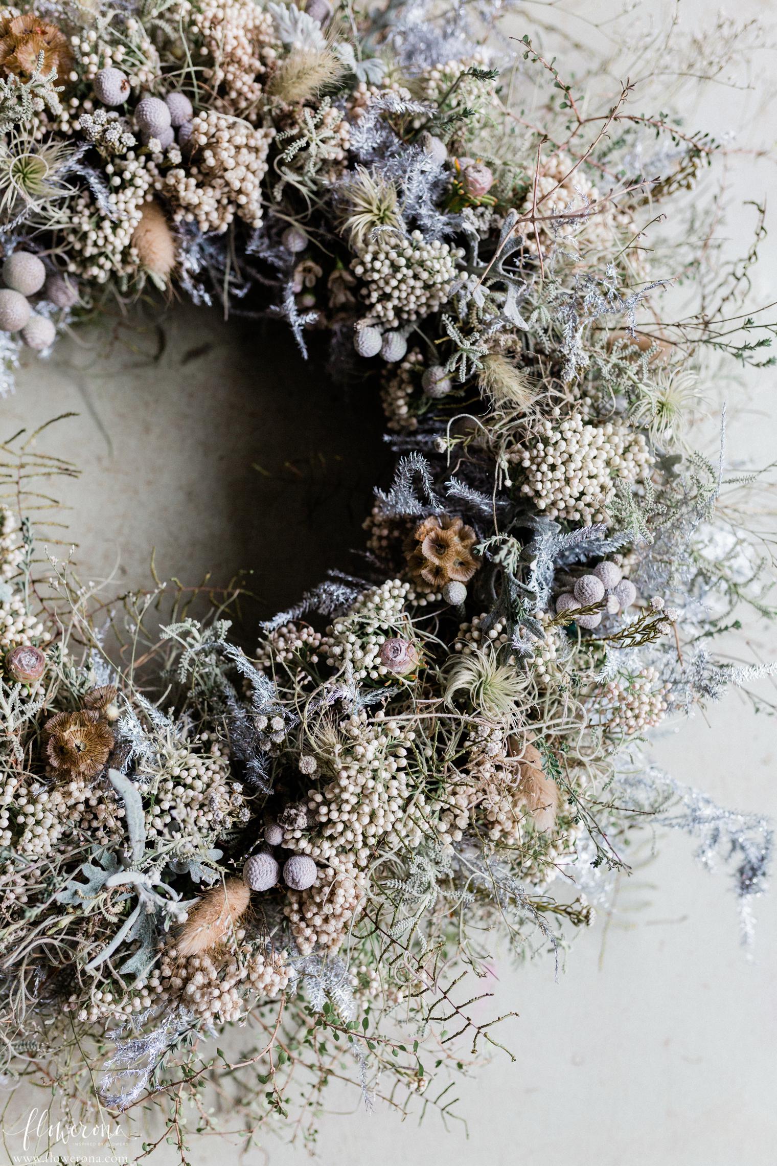 Zita Elze's door wreath