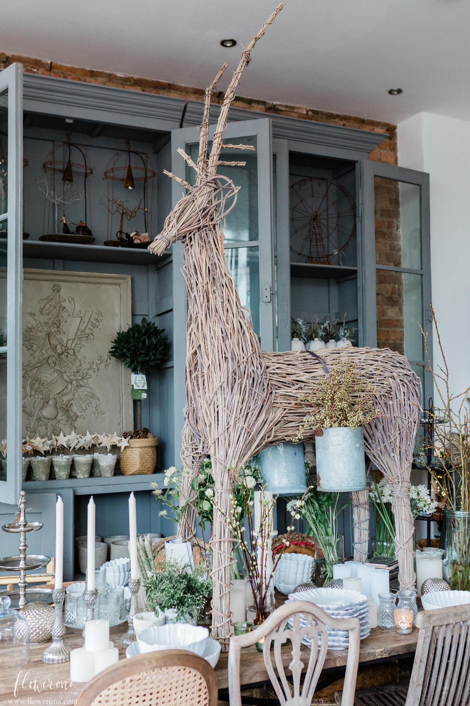 Florist Shop at Christmas