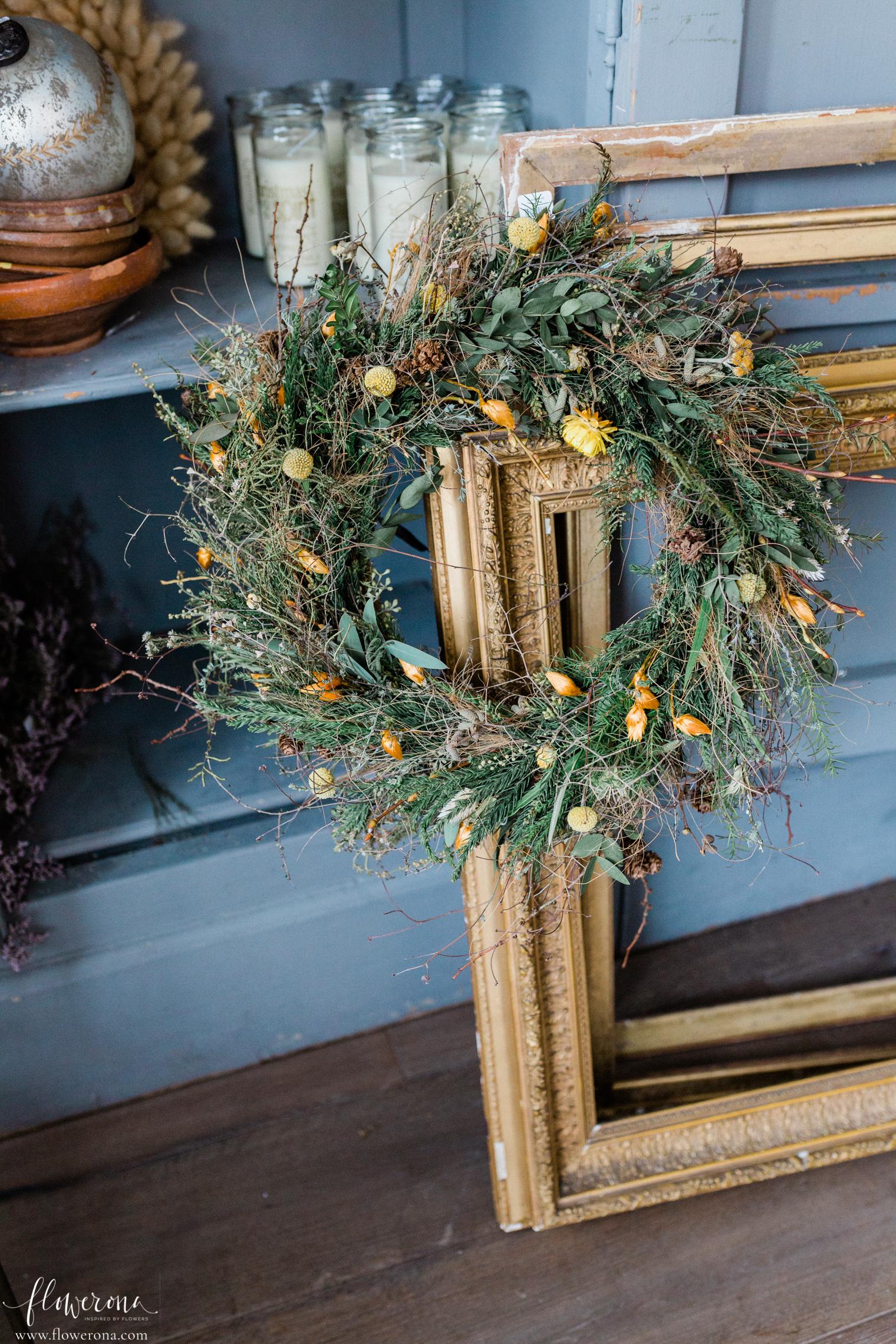 Zita Elze Christmas 2020 Door Wreath