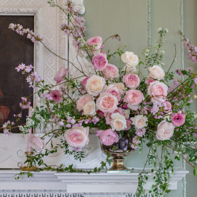 'From Bud to Open Bloom' | David Austin Wedding Roses | AD