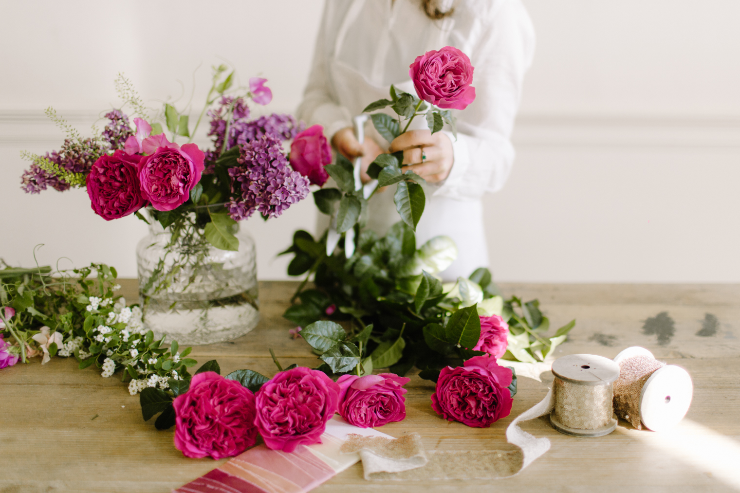 David Austin Wedding Roses   From Bud to Open Bloom