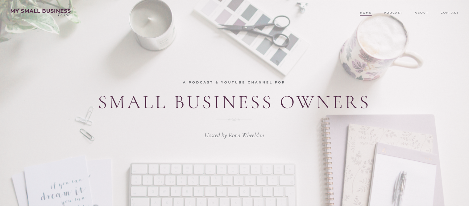 My Small Business & Me Website