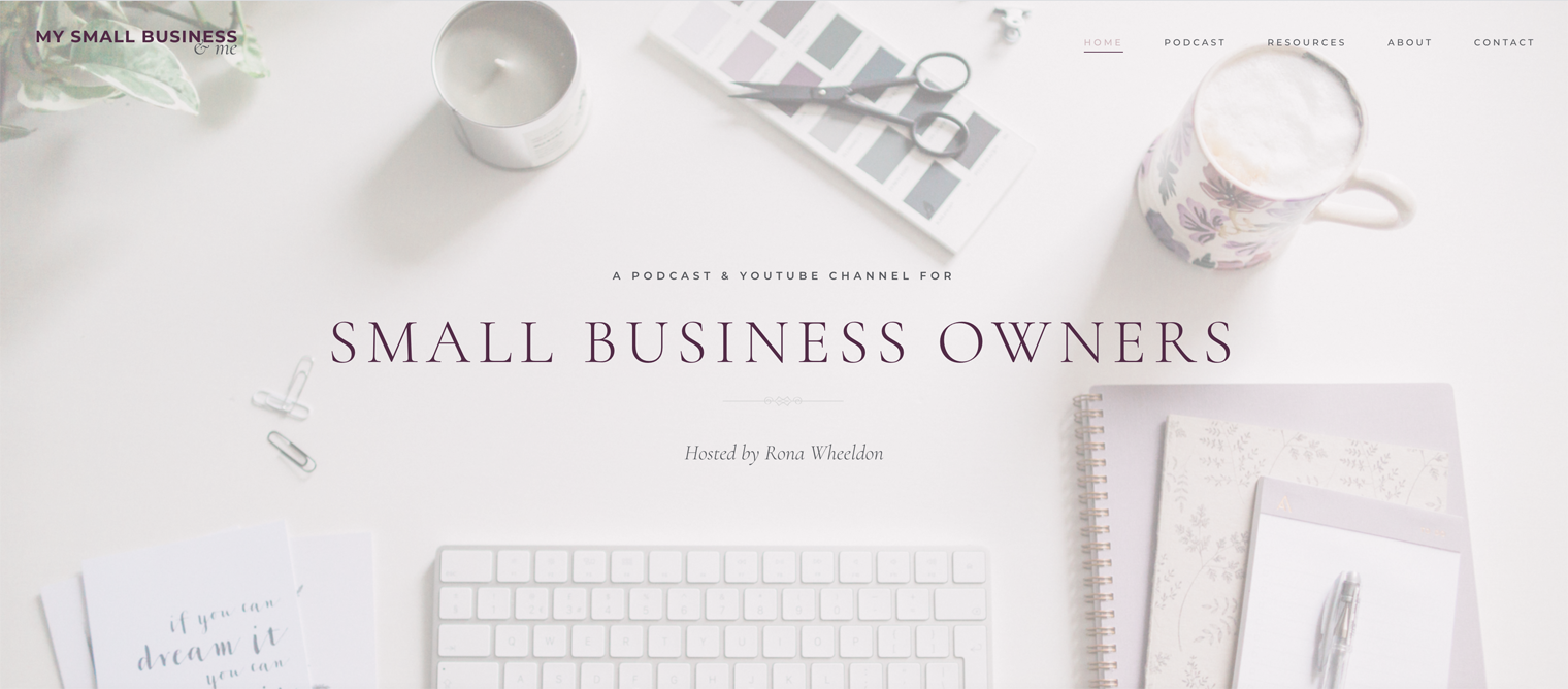 My Small Business & Me Podcast