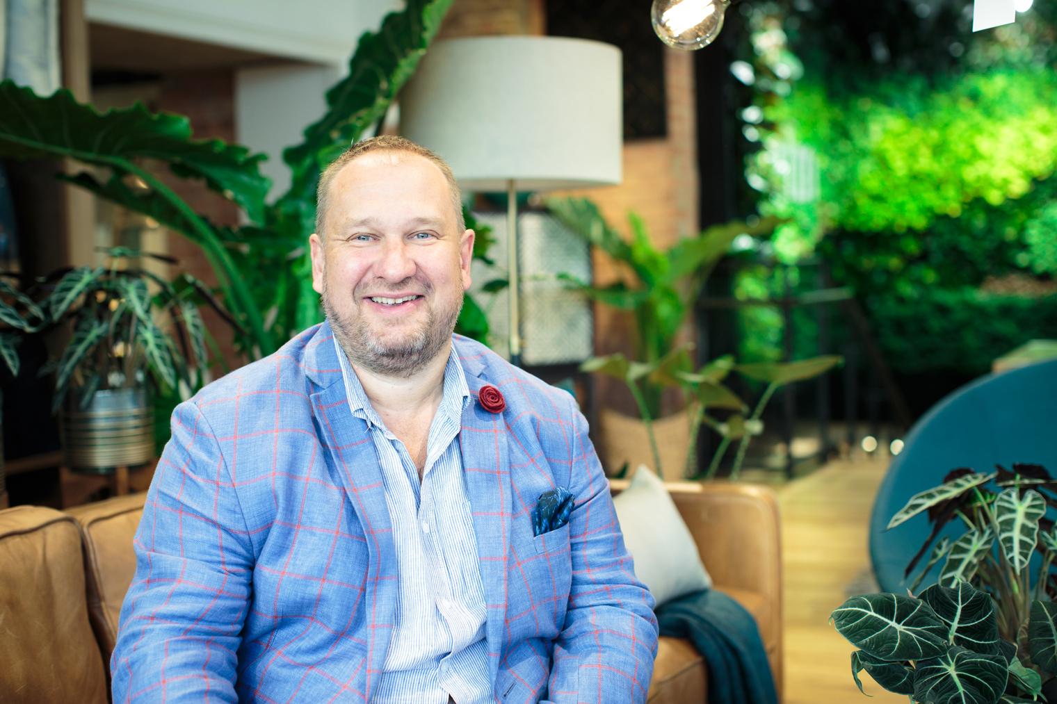 My Small Business & Me Podcast | Ian Drummond | Indoor Garden Design