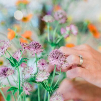 Flower Pressing Workshop with JamJar at Thyme | AD/PR