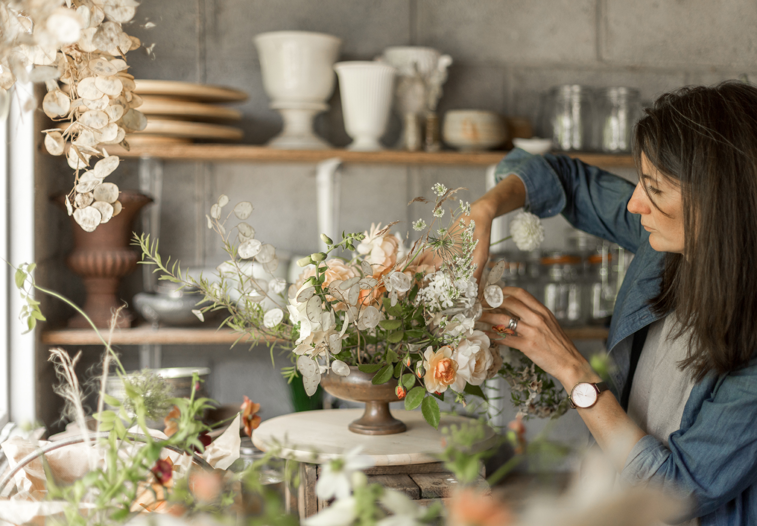 Changing Career & Becoming a Farmer Florist With Rebecca Stuart