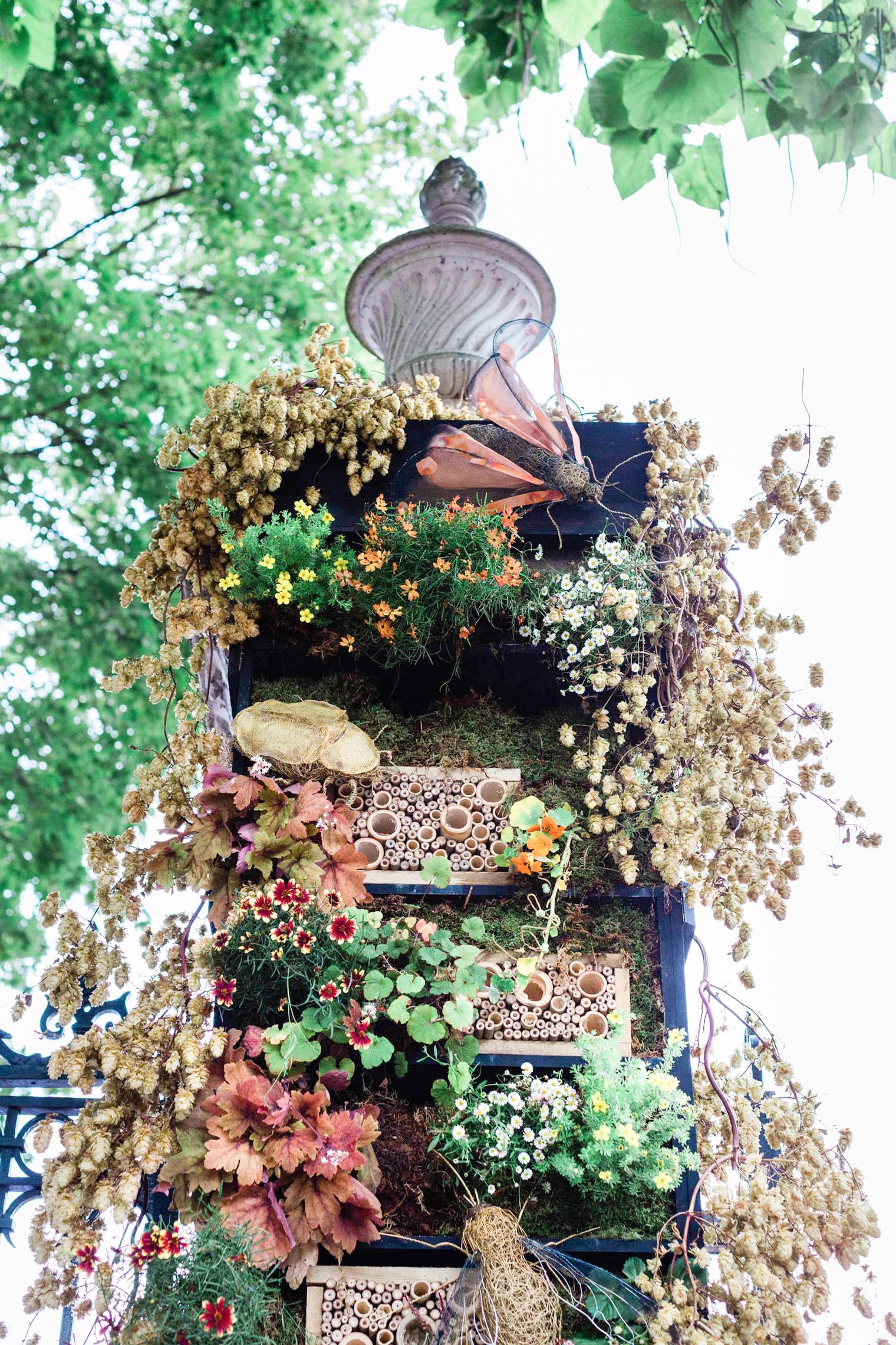 Bull Ring Gate at RHS Chelsea Flower Show 2021