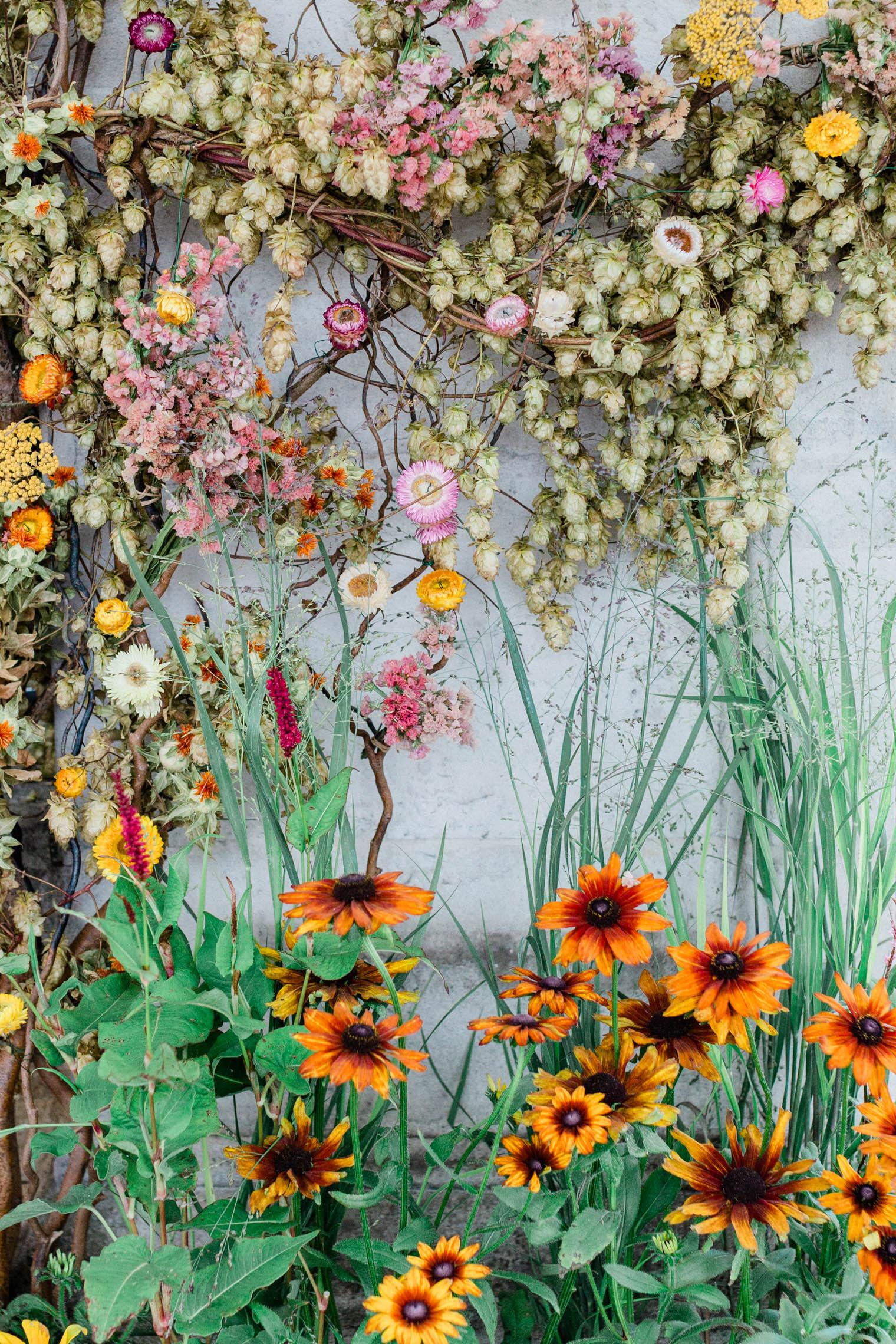 JamJar Flowers x Thyme   RHS Chelsea Flower Show 2021